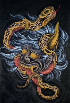 Hannya Tattoo The Mask Is Just One Example Of Many