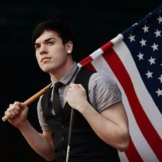The american flag has never been so beautiful.