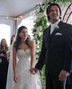 Gen and Jared at their wedding