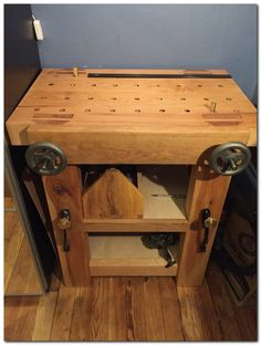 Establishing a Genuine Woodworker's Workbench: 32 Actions. *** Read more details by clicking on the image. #woodworkingbench