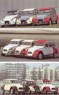 Citroën 2CV6 Dolly launched in three ranges of bi-coloured cars 1985-86