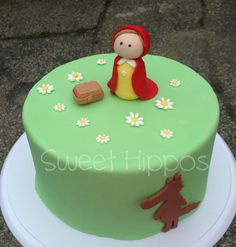 Fondant Nursery Rhyme  Little Red Riding Hood  by SweetFondant