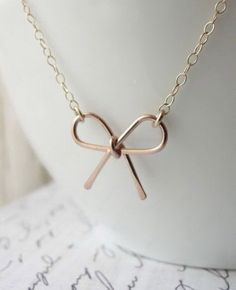 Rose Gold Bow Bracelet <3