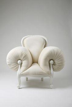 MODERN:  sculptural whimsical chair