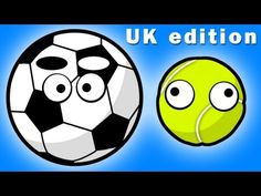 SPORTS BALLS (Song For U.K. Kids ♫)