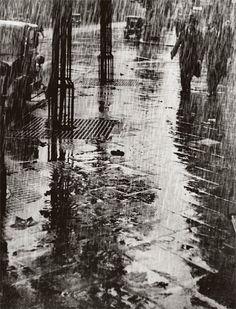 Dr. Paul Wolff & Alfred Tritschler, Strasse Im Regen, 1925