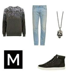 This style and more on MENSWR http://www.menswr.com/outfit/114/ #beautiful #followme #fashion #class #men #accessories #mensclothing #clothing #style #menswr #quality #gentleman #menwithstyle #mens #mensfashion #luxury #mensstyle #sneakers #necklace #sweater