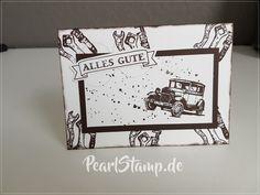 Oldtimer Karte. #stampn_up, #karte, #card, #oldtimer, #für_echte_kerle, #Geburtstag