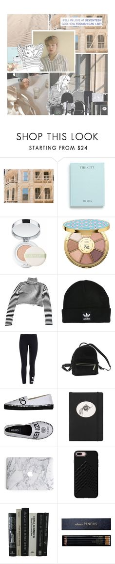 """""""the power of love"""" by luhansolo ❤ liked on Polyvore featuring Production Q, Clinique, tarte, adidas Originals, Urban Outfitters, Kenzo, Eos, Rory Dobner, Rebecca Minkoff and Sloane Stationery"""