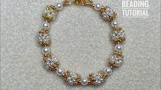 Diy Jewelry, Beaded Jewelry, Handmade Jewelry, Beaded Necklace, Jewelry Making, Handmade Beaded Bracelets, Beaded Braclets, Beaded Bracelets Tutorial, Silk Bangles