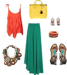 """""""ocean sunset"""" by salmonrose on Polyvore"""
