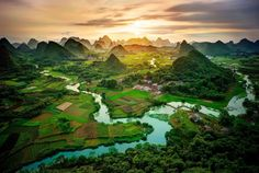Guangxi Mountains, China