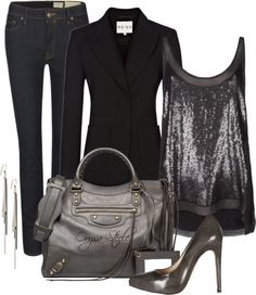 """""""Holiday Glam"""" by orysa on Polyvore"""