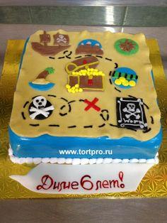 Заказать пиратский торт