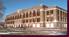 Detroit's abandoned Northeastern High School
