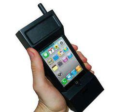 Retro 80's Brick Cell Phone Case