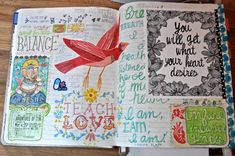 No More Excuses Journal pages by Jessie Starling
