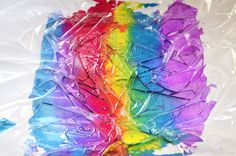 Easy Art For Kids - Experimenting with Water Colours - picklebums.com