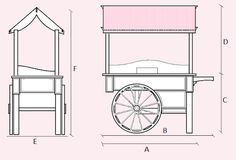 how to make a collapsible candy cart - Recherche Google
