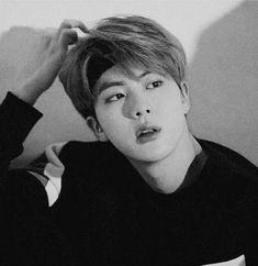Seokjin, Hoseok, Bts Black And White, Black And White Aesthetic, Bts Jin, Jikook, K Pop, Jin Icons, Hip Hop