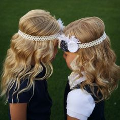 Headband curls!