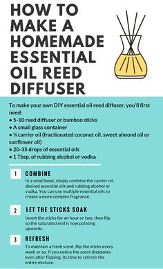 how to make homemade essential oil reed diffuser – DIY it! Homemade Reed Diffuser, Diffuser Diy, Reed Diffuser Oil, Diffuser Recipes, Diffuser Sticks, Aromatherapy Diffuser, Best Essential Oil Diffuser, Essential Oil Uses, Doterra Essential Oils
