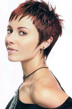 Die 119 Besten Bilder Von Kurzhaarfrisuren Pixie Cuts Hair Cut