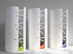 'nodo savoia' umbrella stand designed by eloisa libera for progetti