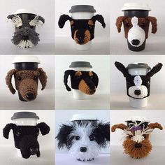 Dog Cozies, Crochet Kits and Patterns #hookedbyangel with a picture of your dog. I may choose it as a model.