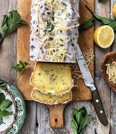 Lemon Mint Yogurt Pound Cake | The Lemon Apron #lemon #lemonpoundcake #baking