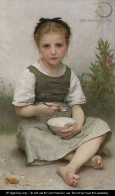 Le Dejeuner Du Matin - William-Adolphe Bouguereau - WikiGallery ...