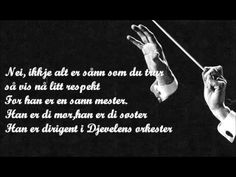 Kaizers Orchestra - Djevelens Orkester (with lyrics)