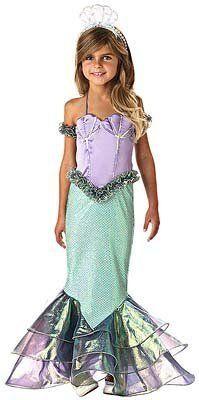 Magical Mermaid Costume Size: 10