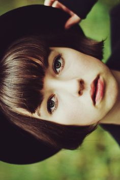 after i grow my hair out, and then get a pixie cut...i'll do this :)