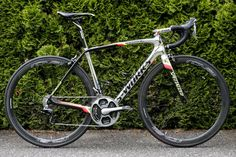 Alberto Contador's specially painted Specialized S-Works Tarmac for the Criterium du Dauphine