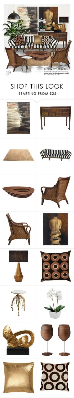 """""""Rattan Colonial Style"""" by olga1402 ❤ liked on Polyvore featuring interior, interiors, interior design, home, home decor, interior decorating, NOVICA, Barbara Barry, Pier 1 Imports and Global Views"""
