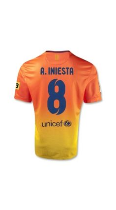 shopping soccer uniforms cheap,the new barcelona soccer jerseys ,cheap the yellow color 12/13 barcelona a.iniesta 8 away soccer uniform,best quality barcelona t shirt,discount 50%, best service,free shipping!
