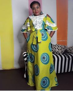 2019 African Women Dresses: Latest Iconic and Radiant African Fashion Ankara, African Fashion Designers, Latest African Fashion Dresses, African Print Fashion, Africa Fashion, Long African Dresses, African Lace Styles, African Print Dresses, Ankara Styles