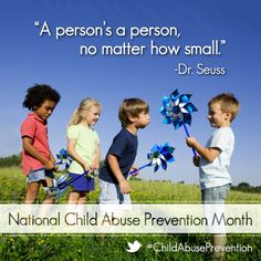 Proud to join child protective services agencies in support of Child Abuse Prevention Month. #ChildAbusePrevention