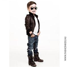 Outfit Idea: Little boy swag. haha
