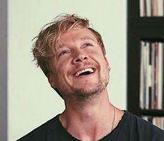 So schön lachen kann nur er...