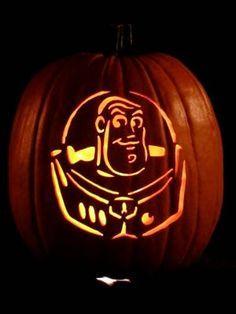 mr buzz lightbeer pumpkin pattern toy story tricks treats