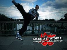 "Martial Arts Tricking Tutorial: ""Jacknife"" ( 2010 )"