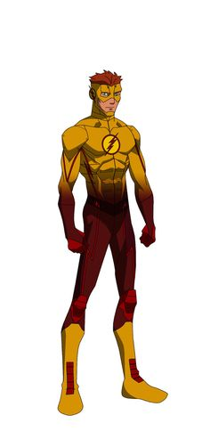 see the original here. alternate color scheme, but with white as the constant instead of black also, I replace Kaldur with the traditional Garth in this version Cyborg (Vic Stone) Kid Flash (Wally ...