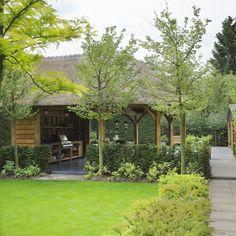 Buitenkeukens - Exclusieve eikenhouten bijgebouwen en tuinpaviljoens - Rasenberg
