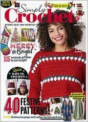 Get your digital subscription/issue of Simply Crochet Magazine on Magzter and enjoy reading the magazine on iPad, iPhone, Android devices and the web. Simply Crochet, Quick Crochet, Learn To Crochet, Crochet Books, Crochet Gifts, Magic Loop Crochet, Christmas Tree Jumper, Crochet Designs, Crochet Patterns
