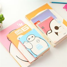 wholesale stationery cute cartoon charactor big hero hardcover spiral notebook wholesale, View spiral notebook wholesale, Smart Product Details from Yiwu Smarte E-Commerce Firm on Alibaba.com