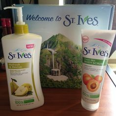 So happy to have received my #LiveRadiantly #voxbox thanks to St Ives and Influenster! These products were just what I needed to revive my winter skin! #StIvesSkin #Contest