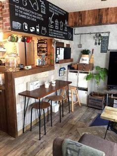 Cozy Coffee Shop, Small Coffee Shop, Coffee Store, Cafe Shop Design, Cafe Interior Design, Deco Restaurant, Restaurant Design, Mini Cafeteria, Coffee Shop Counter