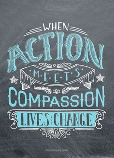 When Action Meets Compassion, lives change.#WorldofGood #Earthbrands #Ad